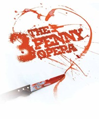 The Three Penny Opera poster
